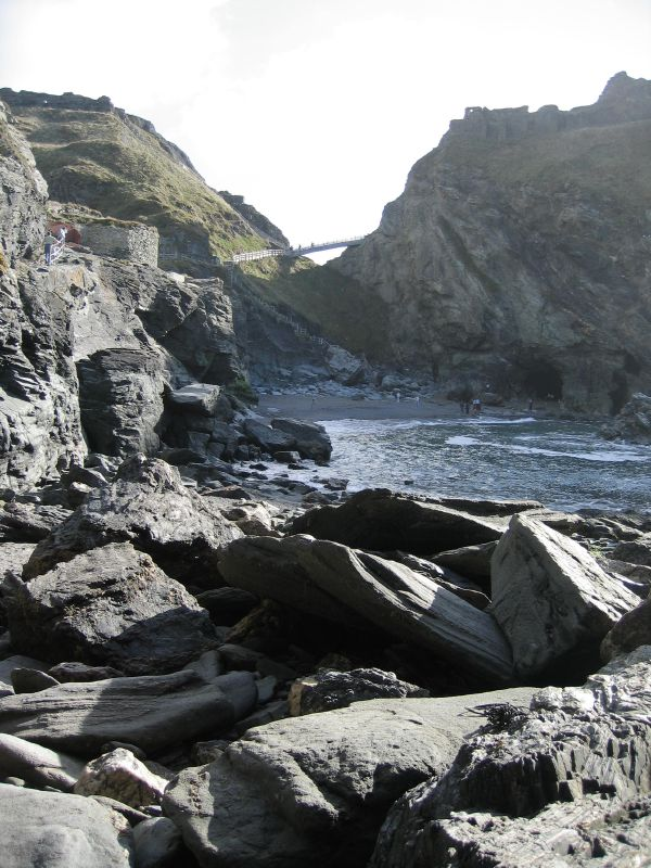 Beach_at_Tintagel