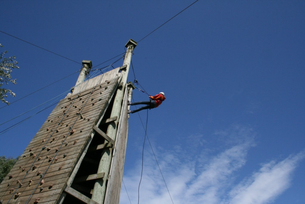 Skern Lodge Abseiling