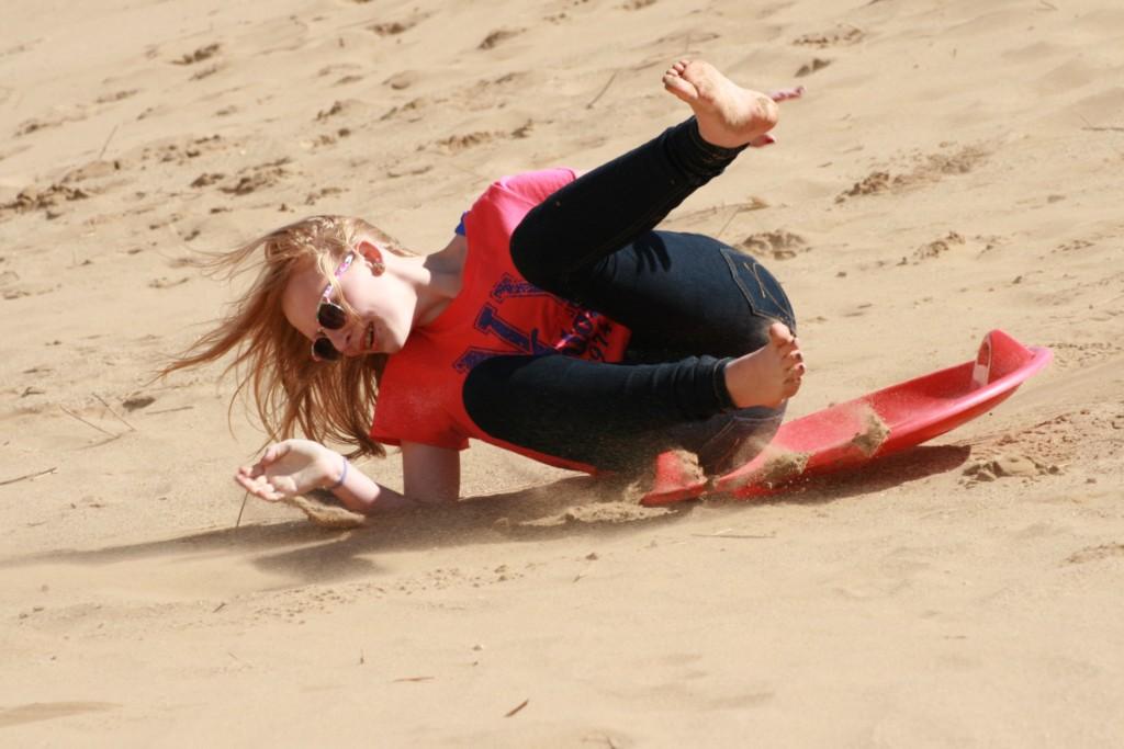 stunt girl